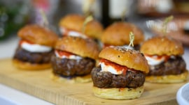Ryan Hardy makes a tasty weeknight burger