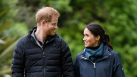 Prince Harry and Meghan Markle are part of a family group text, report says