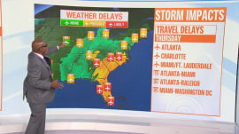 Forecast: Storms threaten holiday travel across country
