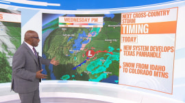 New cross-country storm to bring heavy rain