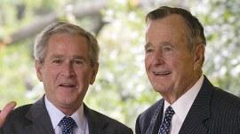 Former Presidents Bush, Obama and Clinton honor George H.W. Bush