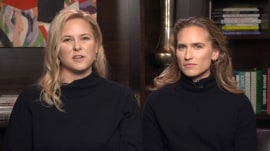 George H.W. Bush's granddaughters on his final moments