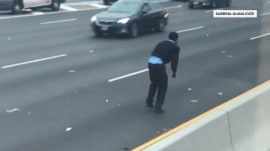 Drivers chase cash on New Jersey highway after armored truck spills bills