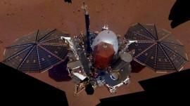 NASA's Insight lander snaps 1st selfie from Mars