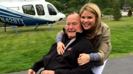 Jenna Bush Hager's love letter to her 'Gampy,' George H.W. Bush