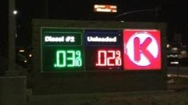 Circle K gas prices drop to 2 cents per gallon in computer glitch