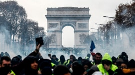 Macron set to address France after massive yellow vest protests