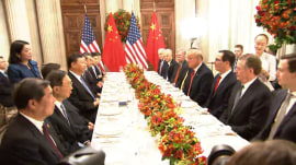 President Trump and China cool rising trade tensions