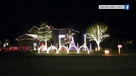 See this house's ultimate 'Baby Shark' holiday light show
