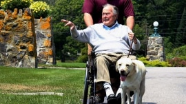 Inside George H.W. Bush's special bond with service dog Sully