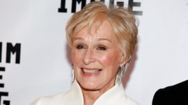 Glenn Close reacts to her Golden Globe nomination