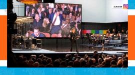 Bryan Cranston pulls Al Roker into 'Network' play performance
