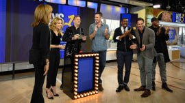 KLG, Hoda and Guys Tell All panel play Battle of the Sexes
