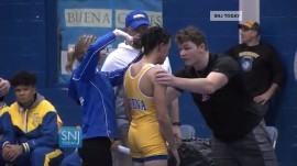 New Jersey high school wrestler ordered to cut dreadlocks in match