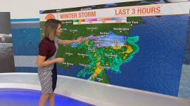 Massive winter storm hits the South