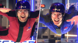 Out and About: Flying at iFly Indoor Skydiving in New York