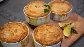 Carson Daly's sister shares her irresistible chicken pot pie