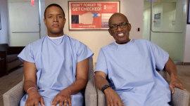 Craig Melvin and Al Roker premiere 'Get Checked' PSA