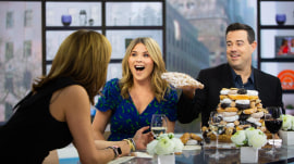 Carson taunts Hoda with treats during 10-day challenge