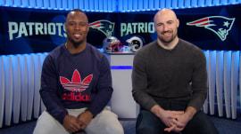 Patriots' James White and Rex Burkhead on road to Super Bowl LIII