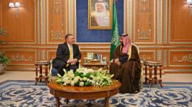 Pompeo meets with Saudis to discuss Jamal Khashoggi's murder