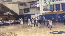 Watch: Buzzer beater shot makes basketball fans go wild