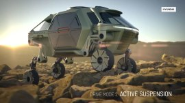 Hyundai unveils 'walking car' concept, Elevate