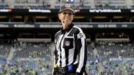 Sarah Thomas is 1st woman NFL official assigned to playoff game