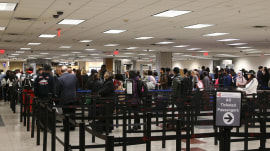 Government shutdown leads to massive airport security lines