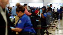 TSA, FAA and FDA hit hard as government shutdown continues