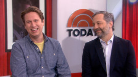 Judd Apatow and Pete Holmes dish on 'Crashing' season 3