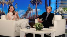 Anne Hathaway tells Ellen DeGeneres she quit drinking
