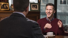 Andy Samberg describes the moment he got the job at 'SNL'