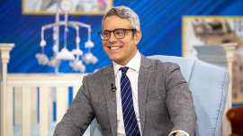 Andy Cohen talks fatherhood, advice and his baby's amazing hair