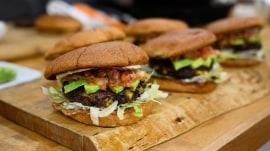 Vegan recipes: Make Sunny Anderson's black bean burger