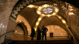 Inside New York City's abandoned City Hall subway station