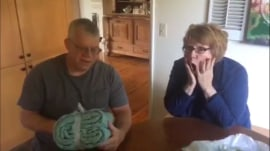 Soon-to-be grandparents ecstatic over daughter's pregnancy news