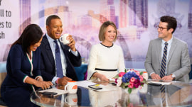 Craig Melvin would welcome an invite to Meghan Markle's baby shower