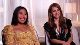 Yalitza Aparicio and Marina de Tavira talk 'Roma' Oscar noms