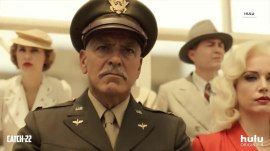 See a look at George Clooney in Hulu's 'Catch-22' series