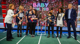 Baby Bowl 2019: See 2 tots try to predict the Super Bowl winner
