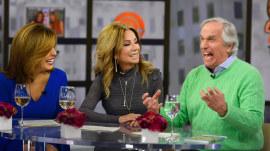 Henry Winkler partakes in Chooseday Tuesday