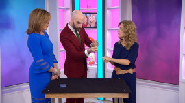 'Death by Magic' host performs tricks with KLG and Hoda