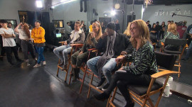 Jennifer Lopez, Ne-Yo and Derek Hough surprise young dancers