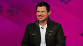 Nick Lachey talks being a dad of 3: 'Best kind of madness'