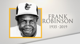 Baseball trailblazer Frank Robinson dies at 83