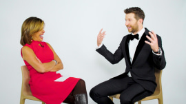 Brett Eldredge shares a quote with Hoda that helps him with his anxiety