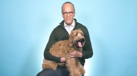 Meet Lester Holt's labradoodle (and see her best tricks!)