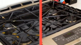 How to clean your stove-top