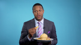 Craig Melvin shares his favorite thing about the South — the food!